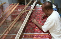 Patan double itak weaving